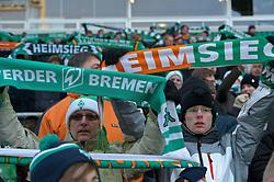 18.12..2010, Weser Stadion, Bremen, GER, 1.FBL, Werder Bremen vs 1. FC Kaiserslautern im Bild  Fans vor dem Spiel   EXPA Pictures © 2010, PhotoCredit: EXPA/ nph/  Kokenge       ****** out ouf GER ******