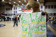 The San Marin High School boys basketball team defeated El Cerrito 47-44 at St. Mary's College in Moraga, California on March 5, 2011 for San Marin's first basketball section title in school history.
