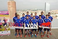 Equipe de France - 10.06.2015 - Presentation du Lyon Seven's - Grand Prix Series 2015 - Lyon<br />Photo : Jean Paul Thomas / Icon Sport