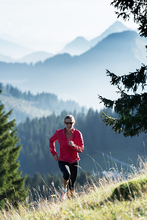 A collection of sports action and lifestyle pictures shot on location in Switzerland and France.