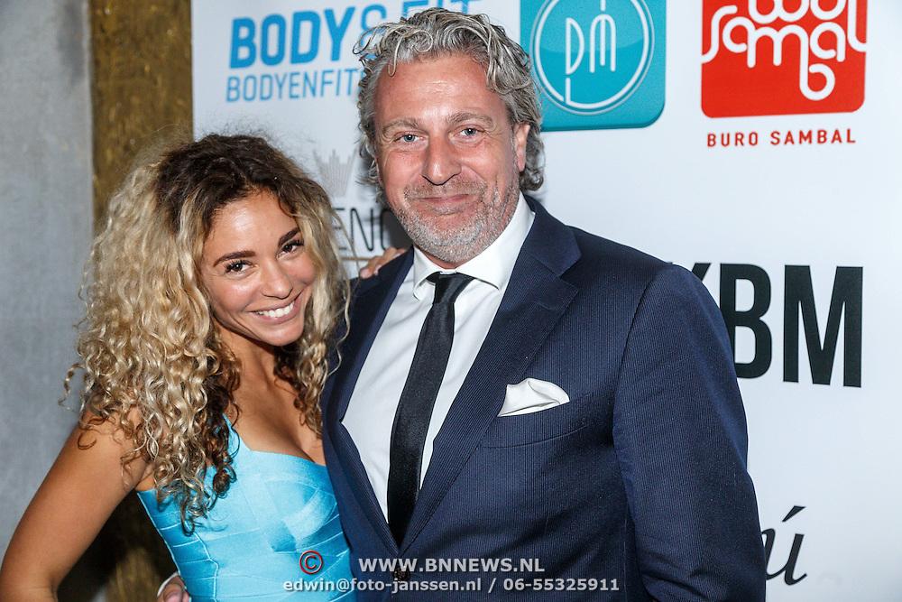 NLD/Amsterdam/20150603 - Start nieuwe website MKBM van Fajah Lourens, en advocaat Mark Teurlings