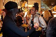 Shingai Shoniwa; THE NOISETTES, The Nineties are Vintage. Concept Store, Rellik and Workit. The Wonder Room. Selfridges. Oxford St. London. 7 January 2010.