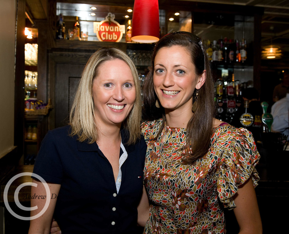 Nicola Toolin, Achill and Aileen McNamara athenry enjoying the Havana Club Rum party at the Little Havana Galway Festival, latin Quarter, Galway on the June bank holiday 2010. Photo:Andrew Downes.