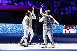 January 13, 2019 - Paris, France - Timur Arslanov / Alexey Cheremisinov / Timur Safin / Dmitry Zherebchenko  (Credit Image: © Panoramic via ZUMA Press)