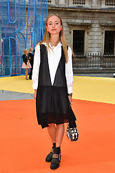 Lady Amelia Windsor at the Royal Academy of Arts Summer Exhibition Preview Party 2017, Burlington House, London England. 7 June 2017.