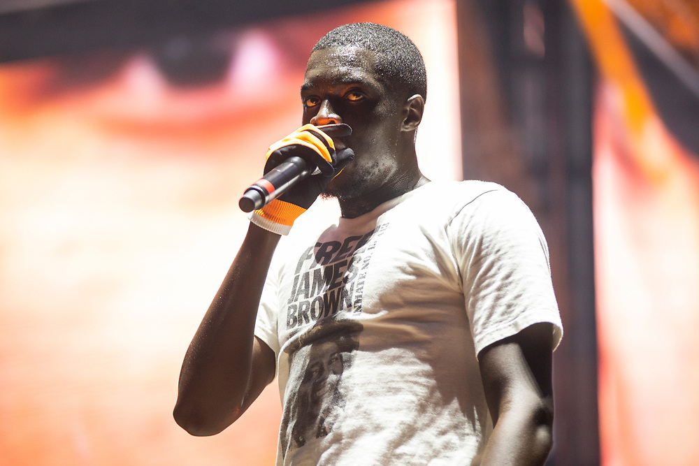 Sheck Wes performs at Lollapalooza in Chicago, IL on August 4, 2019.