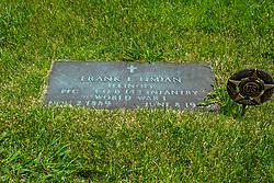Hittle Grove Cemetery near Armington in Tazwell County.<br /> <br /> Frank L Timian  Illinois PFC Co. B 142 Infantry World War I  NOV 2, 1889 - June 8 1965?
