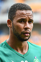 Hernani Azevedo of Saint Etienne during the Ligue 1 match between Troyes Estac and AS Saint Etienne at Stade de l'Aube on October 1, 2017 in Troyes, . (Photo by Anthony Dibon/Icon Sport)