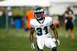 Philadelphia Eagles Cornerback Ellis Hobbs during the Philadelphia Eagles NFL training camp in Bethlehem, Pennsylvania at Lehigh University on Saturday August 8th 2009. (Photo by Brian Garfinkel)