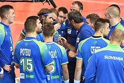 Team Slovenia during friendly handball match between Slovenia and Srbija, on October 27th, 2019 in Športna dvorana Lukna, Maribor, Slovenia. Photo by Milos Vujinovic / Sportida