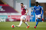 Phillip Bardsley of Burnley (26)  during the Premier League match between Burnley and Brighton and Hove Albion at Turf Moor, Burnley, England on 26 July 2020.