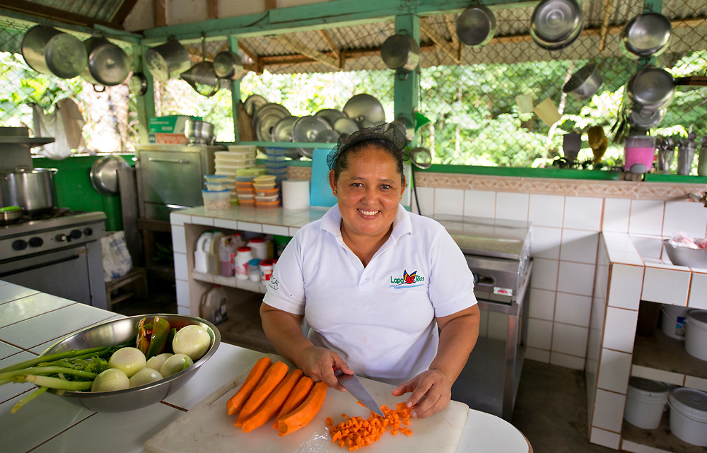 Cook at the famed Lapa Rios Eco Lodge, Costa Rica
