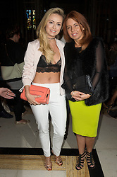 © Licensed to London News Pictures. 17/09/2016.  OLA JORDAN attends the ASHLEY ISHAM Spring/Summer 2017 show. Models, buyers, celebrities and the stylish descend upon London Fashion Week for the Spring/Summer 2017 clothes collection shows. London, UK. Photo credit: Ray Tang/LNP