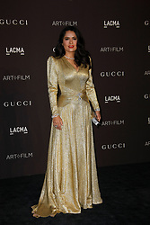 2018 LACMA Art + Film Gala at LACMA on November 3, 2018 in Los Angeles, California. CAP/MPI/IS ©IS/MPI/Capital Pictures. 03 Nov 2018 Pictured: Salma Hayek Pinault. Photo credit: IS/MPI/Capital Pictures / MEGA TheMegaAgency.com +1 888 505 6342