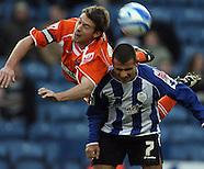Sheffield Wednesday v Blackpool 261208