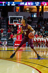 NORMAL, IL - November 10: Isaiah Palermo during a college basketball game between the ISU Redbirds and the Little Rock Trojans on November 10 2019 at Redbird Arena in Normal, IL. (Photo by Alan Look)