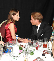 BIANCA NICOLAS and HRH PRINCE WILLIAM at the 2008 Boodles Boxing Ball in aid of the charity Starlight held at the Royal Lancaster Hotel, London on 7th June 2008.<br /> <br /> NON EXCLUSIVE - WORLD RIGHTS