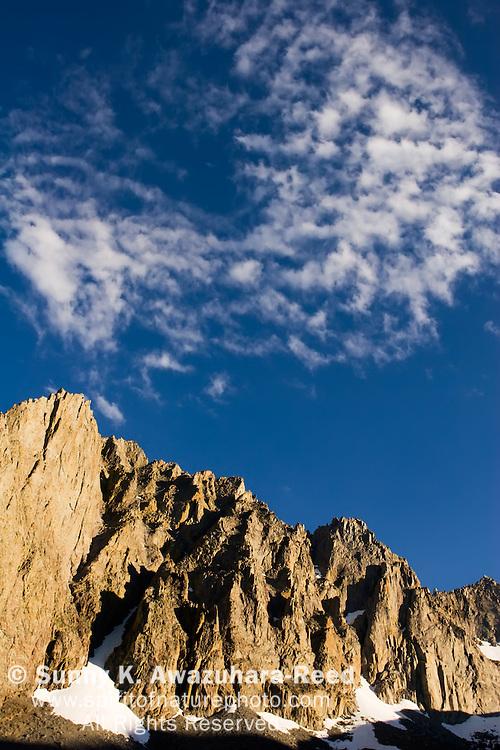 Temple Crag Peak, Big Pine Lakes, Eastern Sierra, California