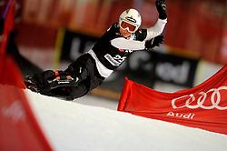 10-10-2010 SNOWBOARDEN: LG FIS WORLDCUP: LANDGRAAF<br /> First World Cup parallel slalom of the season / MUELLER Stefanie SUI<br /> ©2010-WWW.FOTOHOOGENDOORN.NL