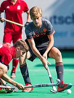 St.-Job-In 't Goor / Antwerpen -  Justin Blok (ned) et Duncan Scott (GB)  . Nederland Jong Oranje Heren (JOH) - Groot Brittannie   COPYRIGHT  KOEN SUYK