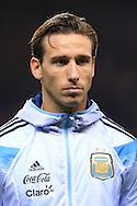 Lucas Biglia of Argentina - Argentina vs. Portugal - International Friendly - Old Trafford - Manchester - 18/11/2014 Pic Philip Oldham/Sportimage