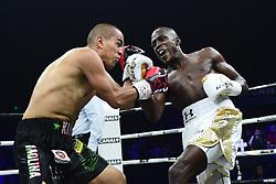 June 23, 2018 - Paris, France, France - Souleymane CISSOKHO (FRA) vs Carlos MOLINA (MEX) .Combat international des poids super welters. (Credit Image: © Panoramic via ZUMA Press)