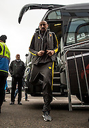 Goalkeeper Heurelho Gomes of Watford arrives during the FA Cup match at The Den, London<br /> Picture by Liam McAvoy/Focus Images Ltd 07413 543156<br /> 29/01/2017