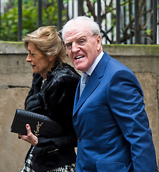© London News Pictures. 05/03/2016. London, UK. GUESTS attends a ceremony to mark the wedding of Rupert Murdoch and Jerry Hall held at St Brides Church on Fleet Street,  central London on February 05, 2016. . Photo credit: Ben Cawthra /LNP