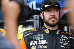 May 26, 2018 - Concord, North Carolina, United States of America - Martin Truex, Jr (78) hangs out in the garage during practice for the Coca-Cola 600 at Charlotte Motor Speedway in Concord, North Carolina. (Credit Image: © Chris Owens Asp Inc/ASP via ZUMA Wire)
