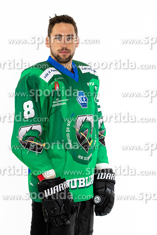 Wade Murphy of HK SZ Olimpija at photoshoot of HK SZ Olimpija before season 2021-22, on 9 August, 2021 in Hala Tivoli, Ljublja, Slovenia. Photo by Matic Klansek Velej / Sportida