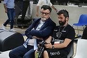 Longhi Luigi<br /> Dolomiti Energia Trento - EA7 Emporio Armani Milano<br /> LegaBasket serieA 2017-2018<br /> Play Off FINALE Gara6<br /> Brescia 15/06/2018<br /> Foto Ciamillo-Castoria \\ Vincenzo Delnegro