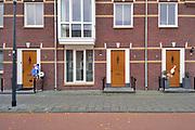 Nederland, Nijmegen, 23-10-2020  Een een straat in een nieuwe wijk met jonge bewoners zijn vlak naast elkaar een baby geboren .Foto: ANP/ Hollandse Hoogte/ Flip Franssen