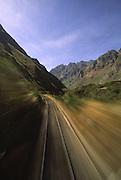 On the train to Machu Picchu, Peru