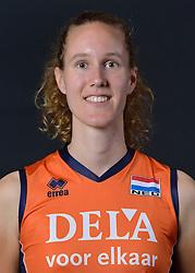 22-05-2015 NED: Selectie Nederlands Volleybalteam vrouwen 2015, Arnhem<br /> Op Papendal werd de photoshoot met de Nederlandse Volleybal vrouwen gedaan / Nicole Koolhaas