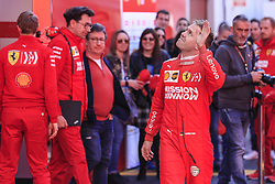 February 18, 2019 - Barcelona, Barcelona, Spain - Sebastian Vettel from Germany with 05 Scuderia Ferrari Mission Winnow SF90 portrait during the Formula 1 2019 Pre-Season Tests at Circuit de Barcelona - Catalunya in Montmelo, Spain on February 18. (Credit Image: © Xavier Bonilla/NurPhoto via ZUMA Press)