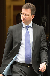 Downing Street, London, October 20th 2015.  Attorney General  Jeremy Wright QC MP leaves 10 Downing Street after attending the weekly cabinet meeting.