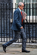 The government's chief scientific adviser Patrick Vallance arrives 10 Downing Street, London, ahead of a Cabinet meeting at the Foreign and Commonwealth Office on Wednesday, Sept 30, 2020. (VXP Photo/ Vudi Xhymshiti)