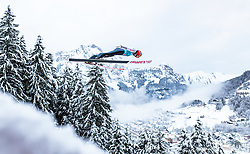 17.12.2017, Gross Titlis Schanze, Engelberg, SUI, FIS Weltcup Ski Sprung, Engelberg, im Bild Karl Geiger (GER) // Karl Geiger of Germany during Mens FIS Skijumping World Cup at the Gross Titlis Schanze in Engelberg, Switzerland on 2017/12/17. EXPA Pictures © 2017, PhotoCredit: EXPA/JFK