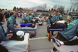 Pre-Race Massage For 1991 Boston Marathon