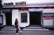 AWFP89 Ronnie Scott's jazz club Soho London England