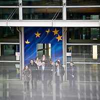 USE ARROWS ← → on your keyboard to navigate this slide-show<br /> <br /> Brussels, Belgium, 10 January 2012<br /> Main entrance of the European Commission Headquarters (Berlaymont building).<br /> Photo: Ezequiel Scagnetti