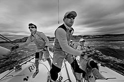 Onboard with Gilmour - Stena Match Cup Sweden 2010, Marstrand-Sweden. World Match Racing Tour. photo: Loris von Siebenthal - myimage