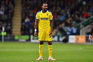 Liam Trotter (14) of AFC Wimbledon during the EFL Sky Bet League 1 match between Plymouth Argyle and AFC Wimbledon at Home Park, Plymouth, England on 6 October 2018.