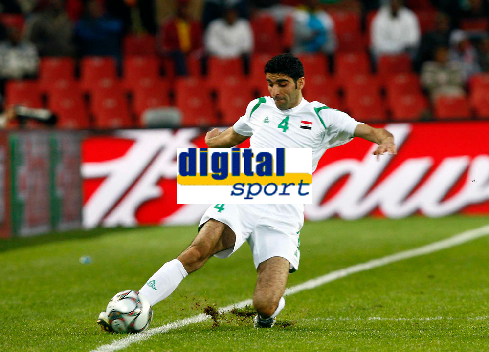 Fareed Majeed of Iraq FIFA Confederations Cup South Africa 2009  South Africa  v Iraq at Coca Cola Park ( Ellis Park )  Stadium <br /> 14/06/2009 Credit Colorsport / Kieran Galvin