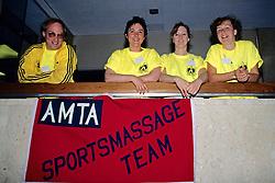 Massage Therapists, Boston Marathon 1990