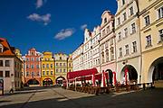 Klasycystyczne kamienice na rynku, Jelenia Góra, Polska<br /> Classical tenements on the market place, Jelenia Góra, Poland