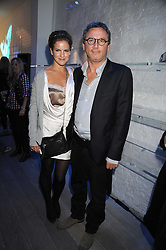 KATE SUMNER and THIERRY GILLIER CEO of Zadig & Voltaire at a party Kate Sumner hosted at Zadig & Voltaire to celebrate the brand's arrival in London at 182 Westbourne Grove, London W11 on 14th October 2008.