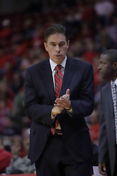 21 November 2009: Coach Tim Jankovich. The Ospreys of North Florida fall to the Redbirds of Illinois State 71-55 on Doug Collins Court inside Redbird Arena in Normal Illinois.