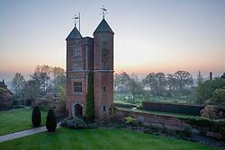 The Tower at Sissinghurst Castle Garden at dawn