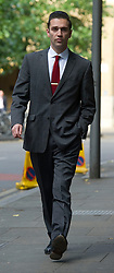 Amy Winehouse's boyfriend Reg Travis arrives at Southwark Crown Court, London, Wednesday September 12,2012, He faces charges of alleged  rape. Photo By Gavin Rodgers/Pixel 8000 Ltd/i-Images